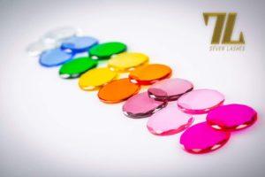Pietra di vetro multicolor