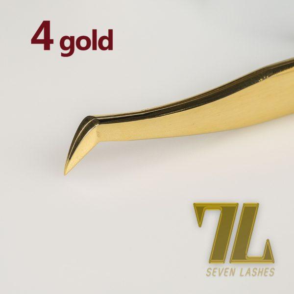 Pinzetta 4, classic gold