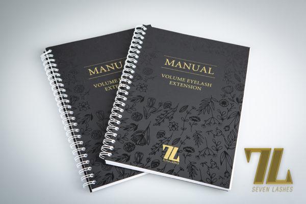 Manuale 7lashes ciglia volume
