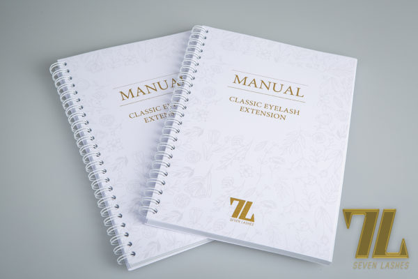 Manuale 7lasches ciglia one to one