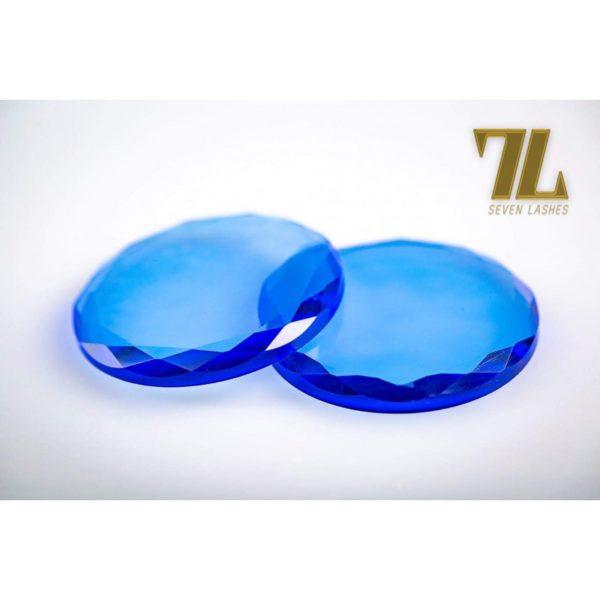 Pietra di vetro multicolor - Blu