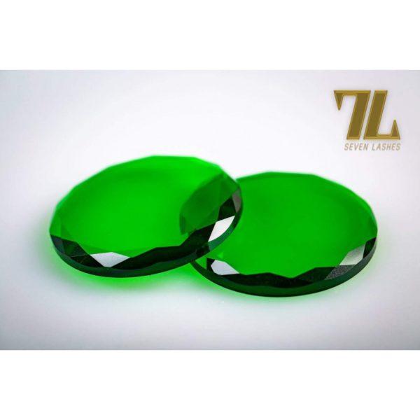 Pietra di vetro multicolor - Verde