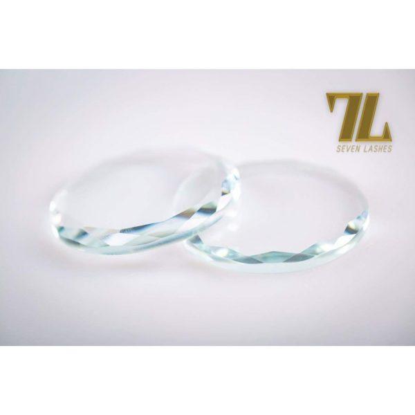 Pietra di vetro multicolor - Bianco