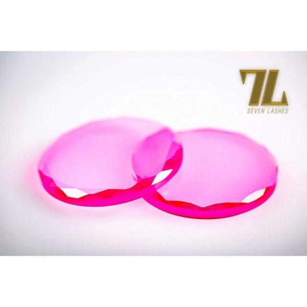 Pietra di vetro multicolor - Rosa